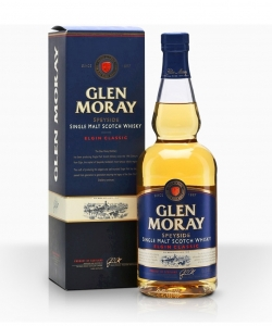 Glen Moray Classic whisky...