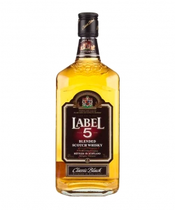 Label 5 Scotch whisky 0,7l...