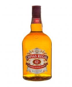 Chivas Regal 12 y.o. whisky...
