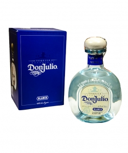 Don Julio tequila blanco...