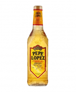 Pepe lopez tequila gold...