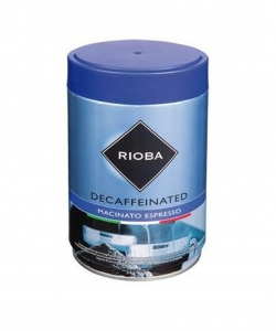 Rioba Decaffeinated káva...