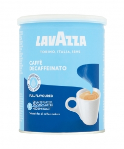 Lavazza decaffeinated...